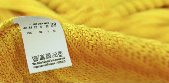 Etiquetas de la ropa, guía básica