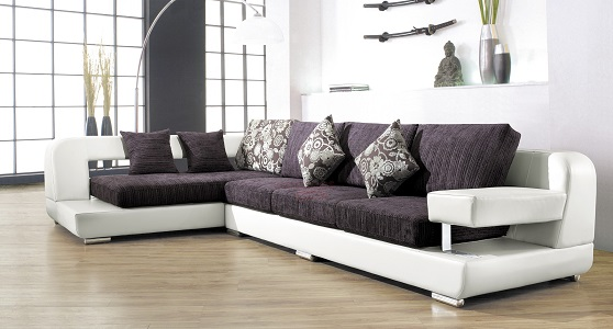 ¿Qué material escoger en el sofá?